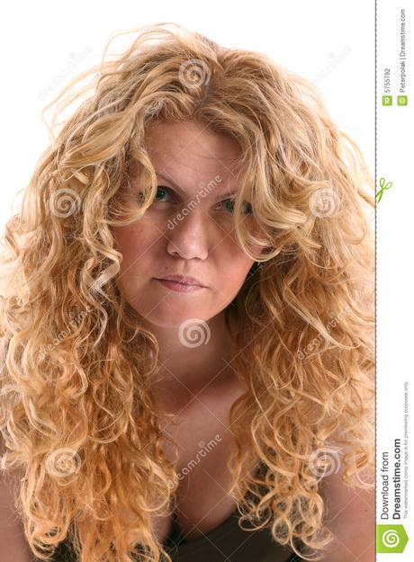 blond haar krullen