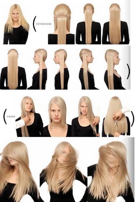 Simpele Opsteekkapsels Lang Haar