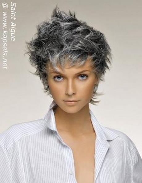 mooi grijs haar