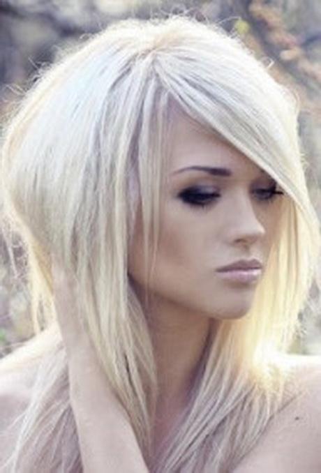 Beautiful Hair Cutting Style : Kapsels halflang haar in laagjes