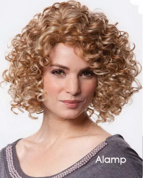 Krullen Halflang Haar