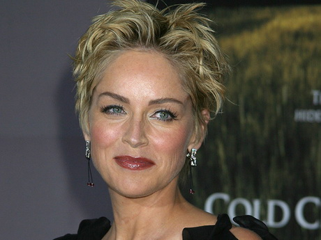 sharon stone short hairstyle 26 Encouraging Sharon Stone Short Hair