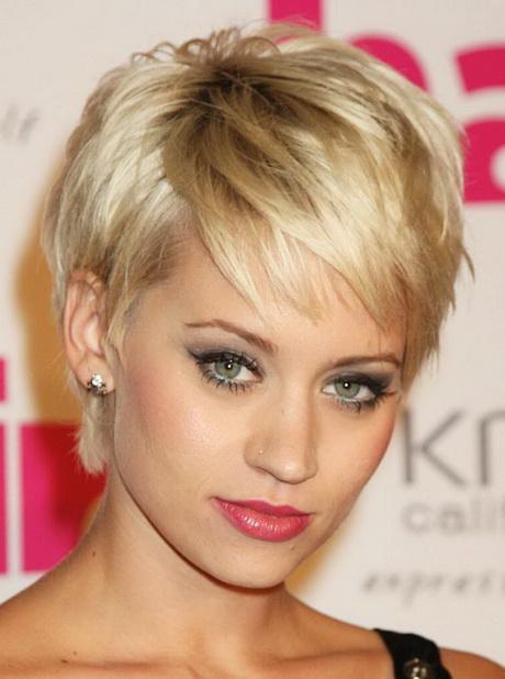 Stoere Kapsels Vrouwen Kort Haar