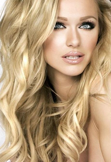 Haar Kleuren Blond