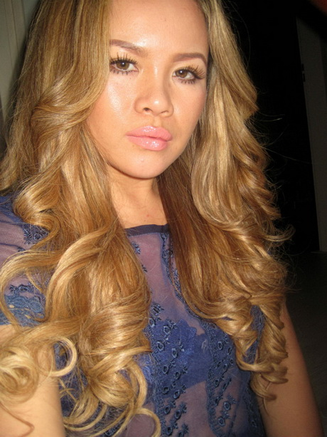 Caramel Kleurig Haar