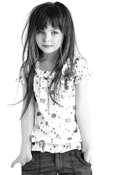 Kinderkapsel Lang Haar