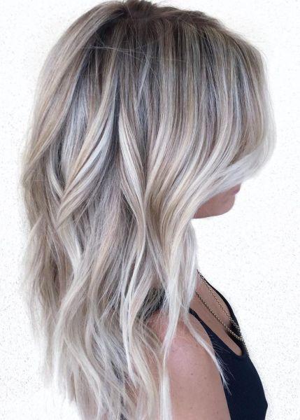 Asblond Lang Haar