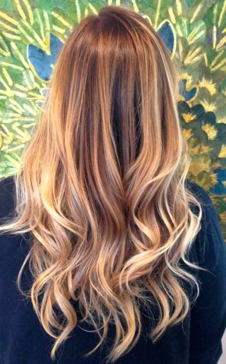 Blond Haar Met Donkere Highlights