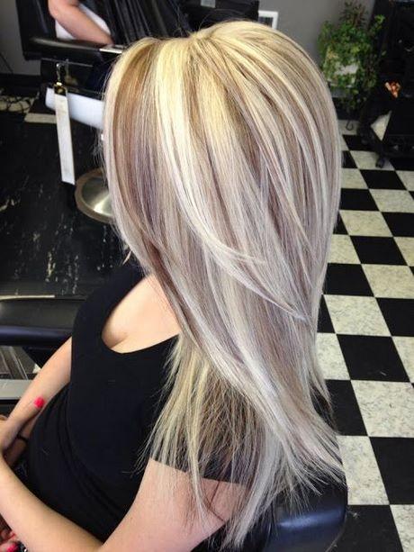 Kapsels Blond Met Lowlights