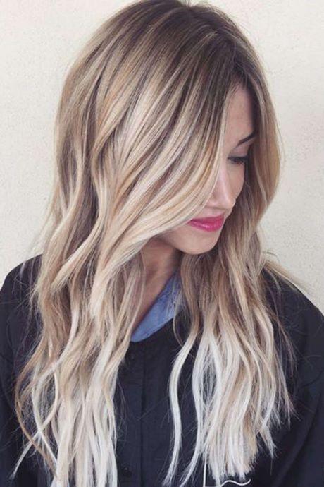 Blonde Haare Highlights