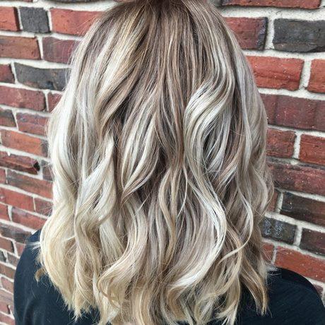 Lowlights In Blond Haar